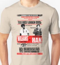 Enter the Dragon - Williams vs Han Unisex T-Shirt
