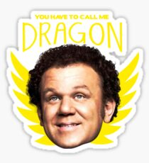 Step Brothers Dragon Sticker