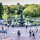 Central Park, Bethesda Terrace, New York by Colin White