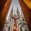 Atlas, Rockefeller Centre, New York by Colin White