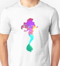 Mermaid Inspired Silhouette Unisex T-Shirt