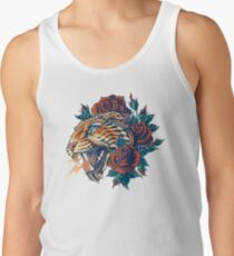 Ornate Leopard (Color Version) Men's Tank Top