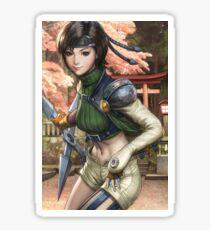 Yuffie Final Fantasy Sticker
