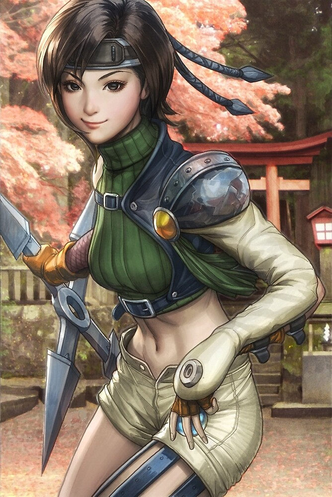 Yuffie Final Fantasy by RogeBer