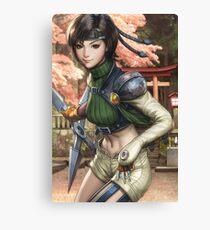 Yuffie Final Fantasy Canvas Print