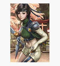 Yuffie Final Fantasy Photographic Print