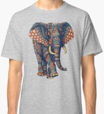 Ornate Elephant v2 (Color Version) Classic T-Shirt