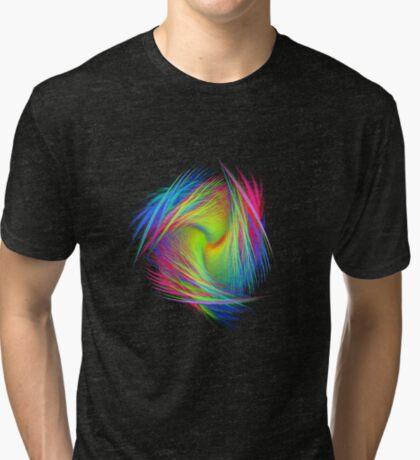 Forma 3 chaos #fractal art Tri-blend T-Shirt