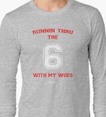 Drake - 6 God Long Sleeve T-Shirt