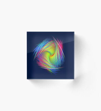 Forma 3 chaos #fractal art Acrylic Block