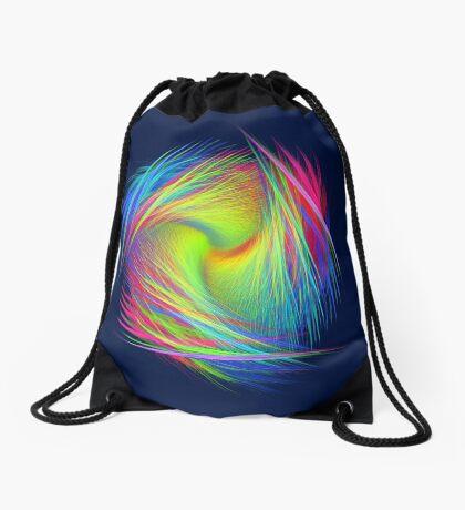 Forma 3 chaos #fractal art Drawstring Bag