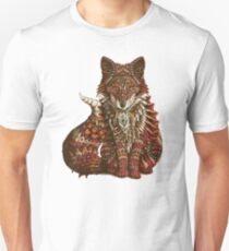 Red Fox (Color Version) Unisex T-Shirt