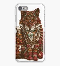 Red Fox (Color Version) iPhone Case/Skin