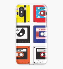 Cassettes Soundtracks iPhone Case/Skin