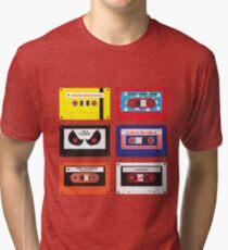 Cassettes Soundtracks Tri-blend T-Shirt
