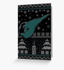 Ugly Fantasy Sweater Greeting Card