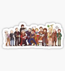 The Great Doctor Bake-Off Sticker
