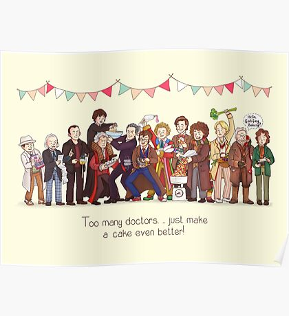 The Great Doctor Bake-Off Poster