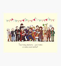 The Great Doctor Bake-Off Photographic Print