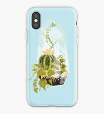 Blue Terrarium iPhone Case