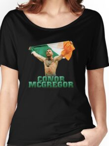 Conor McGregor - Flag Women's Relaxed Fit T-Shirt