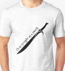 I'm as Straight as a Sword T-Shirt