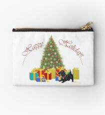 Scottish Terrier Holidays Studio Pouch