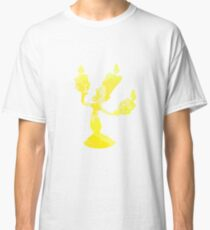 Candelabra Inspired Silhouette Classic T-Shirt