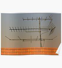 Television antenna Poster