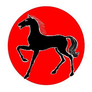 Black Horse by Yanin