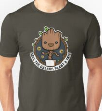 Save The galaxy Plant A tree Go Green T-Shirt