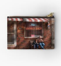 Barber - Metuchen, NJ - Waiting for Mike Studio Pouch