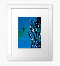 Blue Passion Framed Print