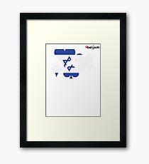 Israel Poker Framed Print