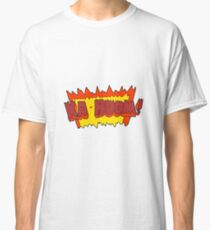 cartoon comic book explosion Classic T-Shirt