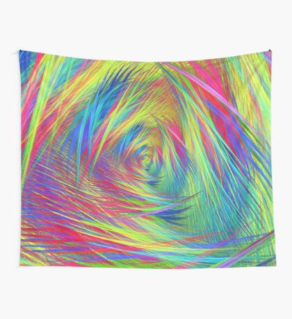 Forma 3 chaos continuous #fractal art Wall Tapestry