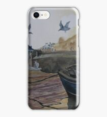 """""""Fading Light"""" - Port Isaac, Cornwall iPhone Case/Skin"""