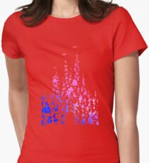 Character Castle Inspired Silhouette Womens Fitted T-Shirt