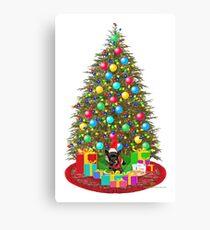 Cookies for Santa Claus Canvas Print
