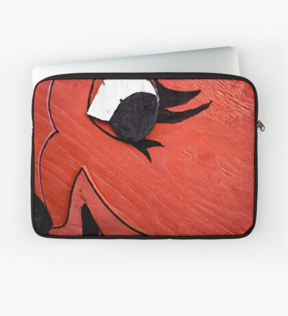 A Big Red Fish Laptop Sleeve