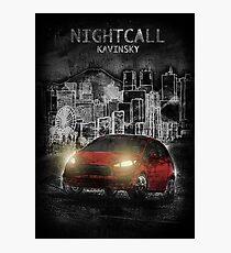 Kavinsky: Nightcall Photographic Print