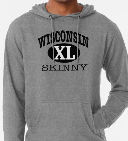 Wisconsin Skinny XL Athletic Lightweight Hoodie