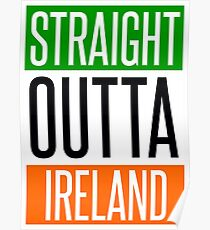 STRAIGHT OUTTA IRELAND Poster