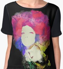 Diana Ross Women's Chiffon Top