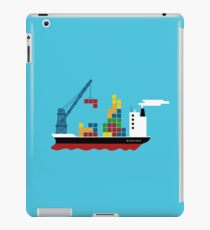 Cargo Tetris Ship iPad Case/Skin