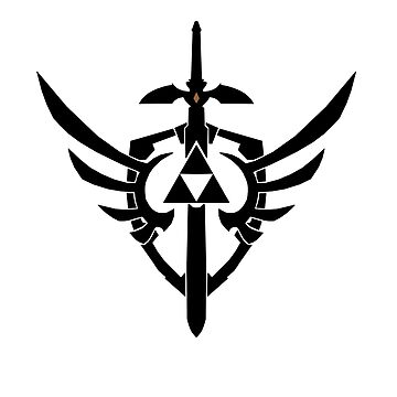Links Sword, Triforce and Shield by TheAnonOne