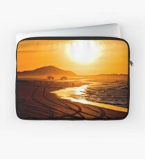 Beach highway sunset (Moreton Island, Australia) Laptop Sleeve