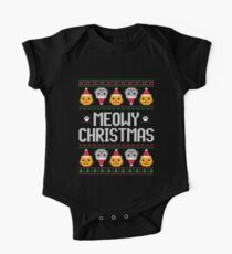 Ugly Christmas Sweater - Cat Kids Clothes