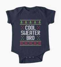 Ugly Christmas Sweater - Cool Sweater Bro One Piece - Short Sleeve
