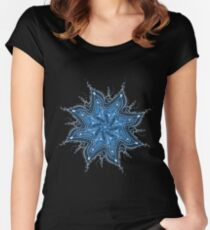 Ice Bay Mandala Women's Fitted Scoop T-Shirt